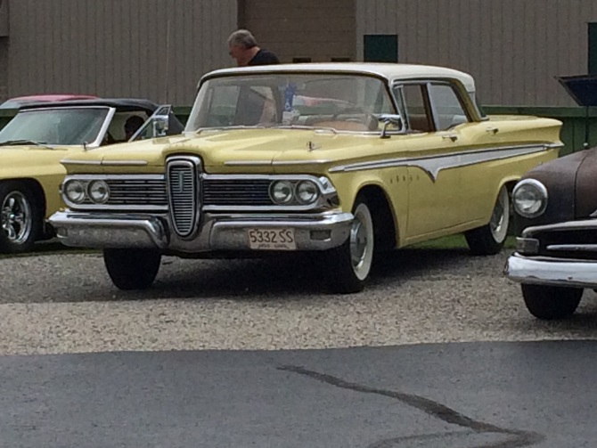 And The Winners Are Hanks First Edselent Cruise Night Was A Big Success With Over 60 Cars Registered Few That Were Not Pictured Here Is Edsel Dave