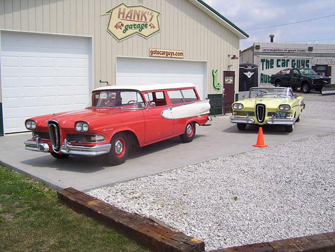 car guys hanks garage